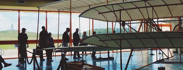 Wright Brothers First Flight Centennial Pavillion is one of 🇬🇧Alphonso'nun Kaydettiği Mekanlar.
