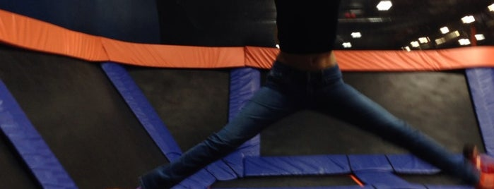 Sky Zone is one of Vegas.