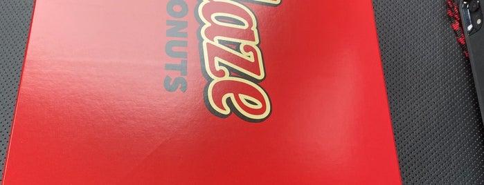 Glaze Donuts is one of Posti salvati di Rachel.