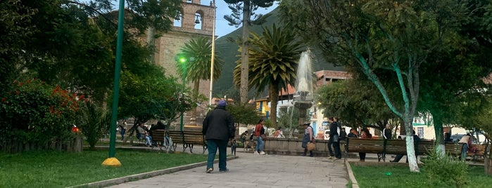 Plaza de Armas Urubamba is one of Peru.