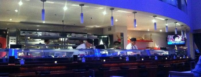 Amura Sushi and Steak is one of Lieux sauvegardés par Megan.