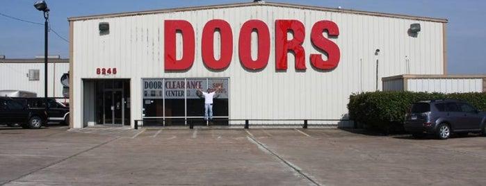 Door Clearance Center is one of Locais curtidos por Rita.