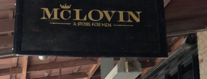 McLovin - A Store for Men is one of Orte, die Joshua gefallen.