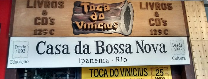Toca do Vinícius is one of T+L's Definitive Guide to Rio de Janeiro.