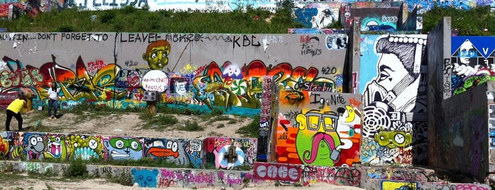 Graffiti Park is one of austin.