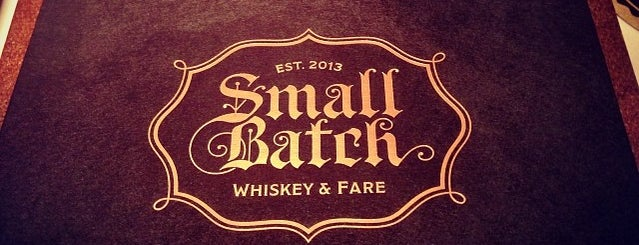 Small Batch is one of Supper Club.