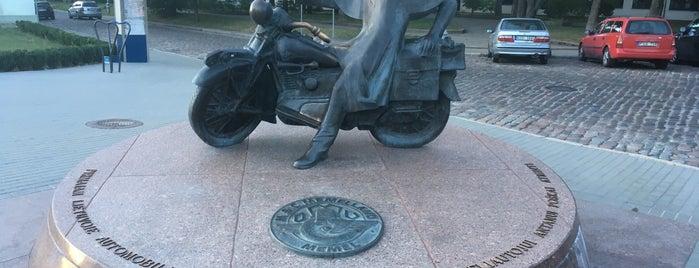 Мотоциклист is one of Klaipeda.