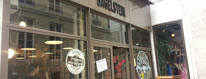 Bagelstein is one of Liste Paris Salé.