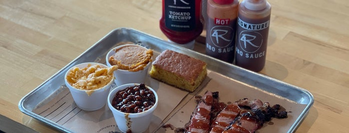 4 Rivers Smokehouse is one of Home for the Holidays.