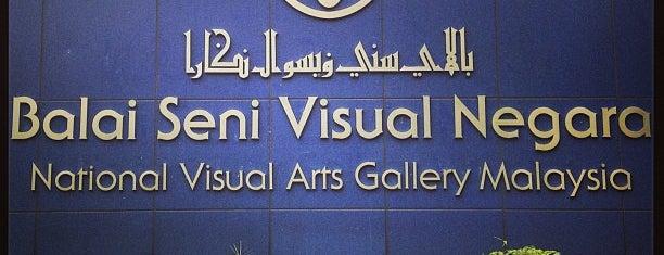 Balai Seni Visual Negara (BSVN) is one of Locais curtidos por Şeyma.