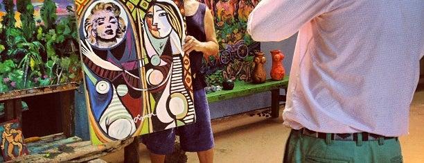 Symon Art Zoo is one of Ubud.