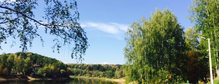 Озеро в Красногорском лесу is one of Posti salvati di Ilya.