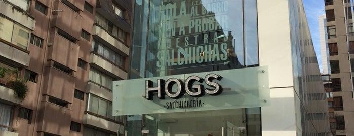 Hogs is one of Lugares favoritos de Hogs - Salchichería.