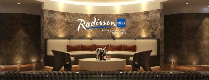 Radisson Blu Leogrand Hotel is one of MDA Chisinau.