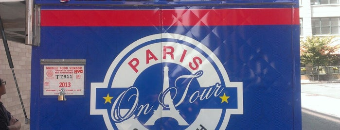 Paris Sandwich is one of Food Truck.