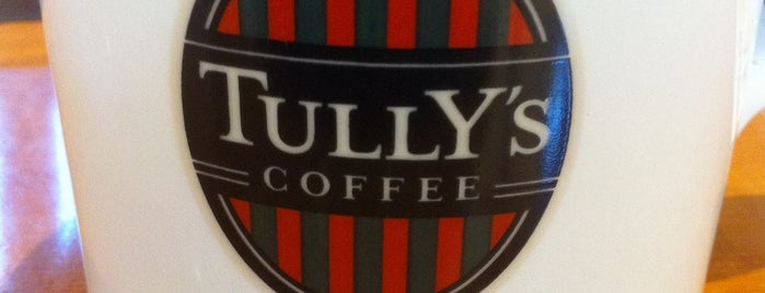 Tully's Coffee is one of Lugares favoritos de Takashi.