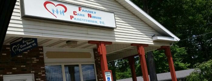 Family Care Nurse Practitioner P.C. is one of Posti che sono piaciuti a Nicholas.