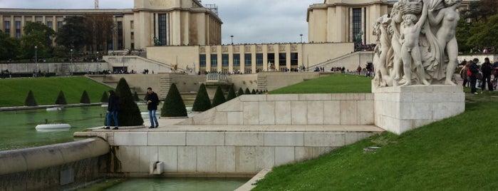 Palais de Chaillot is one of Paris.
