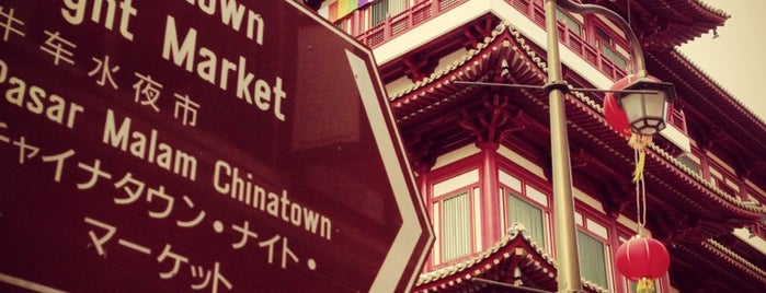 Chinatown is one of #myhints4Singapore.
