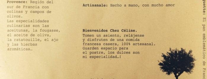 Chez Céline is one of Priscilla'nın Beğendiği Mekanlar.