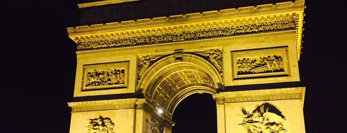Триумфальная арка is one of Priscilla : понравившиеся места.