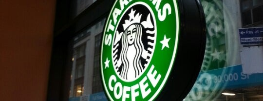 Starbucks is one of Orte, die Sandra gefallen.