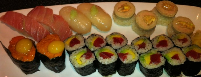 Kaz Sushi Bistro is one of Go back to explore: DC/VA.