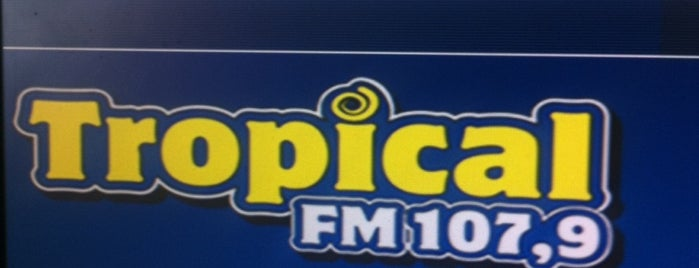 Rádio Tropical FM - 107,9 is one of Posti che sono piaciuti a Guilherme.