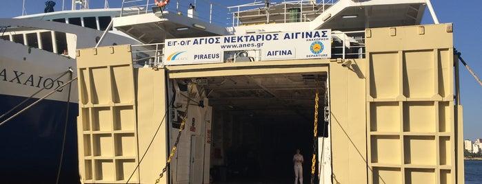 F/B Αγ. Νεκτάριος Αίγινας (Ag. Nektarios) is one of Greece.