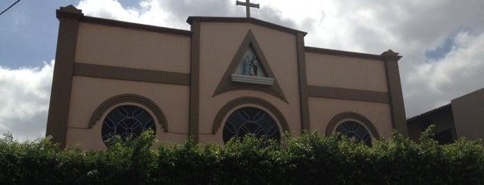 Capela Sagrada Família is one of สถานที่ที่บันทึกไว้ของ Arquidiocese de Fortaleza.