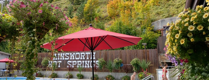 Ainsworth Hot Springs Resort is one of Best of World Edition part 1.