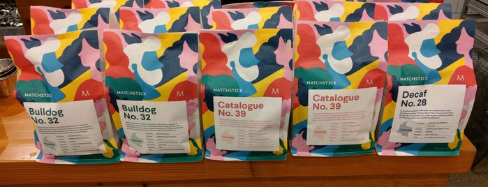 Matchstick Coffee Roasters is one of Vancouver List.