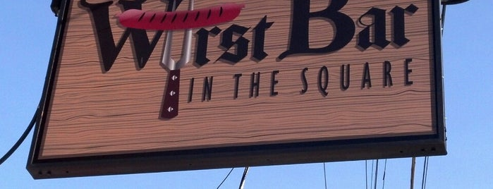 Wurst Bar is one of Trip west.