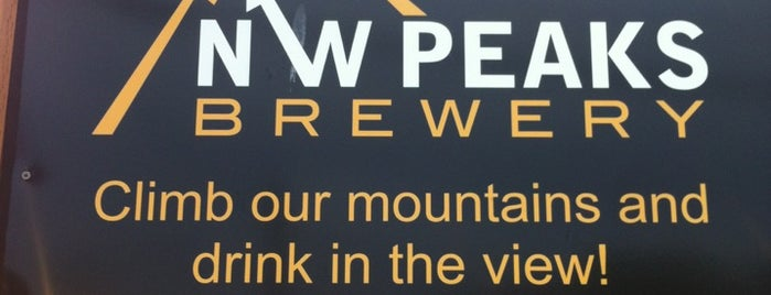 NW Peaks Brewery is one of Seattle Brewpubs, Taprooms and Breweries.