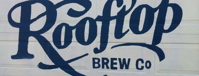 Rooftop Brewing Company is one of Bars.