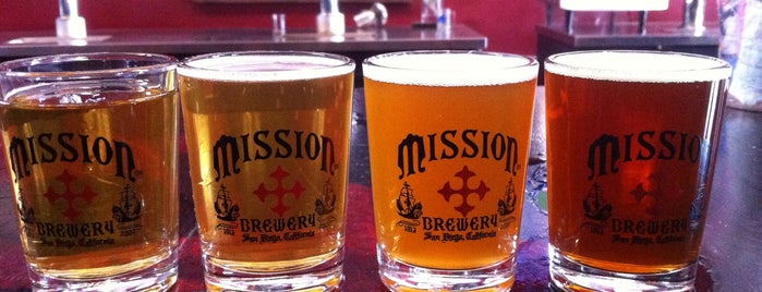Mission Brewery is one of San Diego.