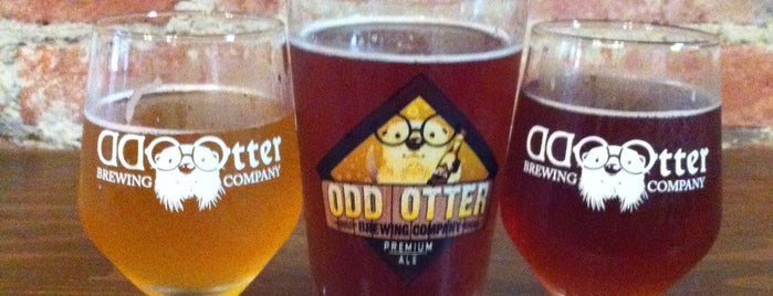 Odd Otter Brewing Company is one of Brent'in Kaydettiği Mekanlar.