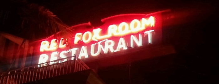 Red Fox Room is one of San Diego Faves.