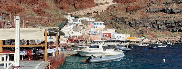 Ammoudi Bay is one of Santorini!.