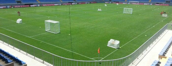 Bakcell Arena is one of Lugares favoritos de Георгий.