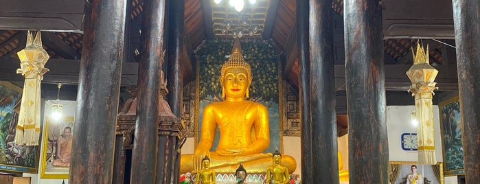 Wat Umong Maha Thera Chan is one of Thailand.