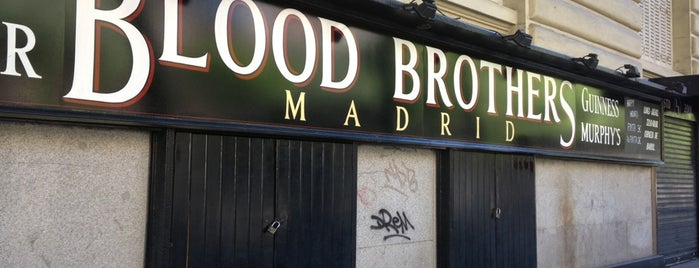 Blood Brothers Madrid is one of Garitos de Rock (Madrid).
