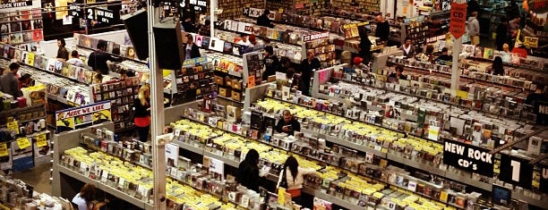 Amoeba Music is one of USA.