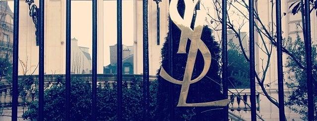 Yves Saint Laurent is one of Paris.
