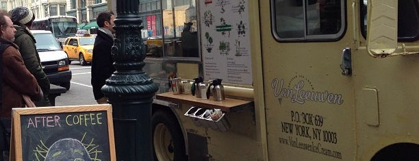 Van Leeuwen Ice Cream Truck - 6th is one of NY Green.