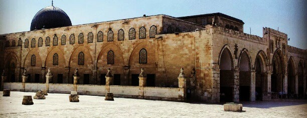 al-Aqsa Mosque is one of World Heritage Sites!!!.