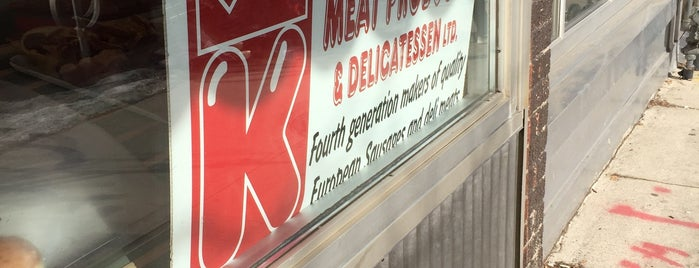 Kingsway Meat Products & Deli is one of Lieux qui ont plu à Suzanne E.
