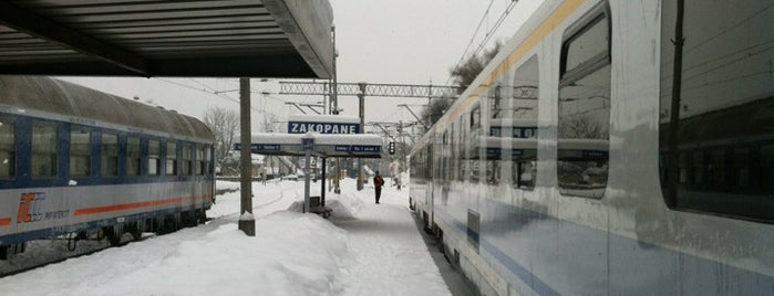 Dworzec PKP Zakopane is one of Lugares favoritos de Назар.
