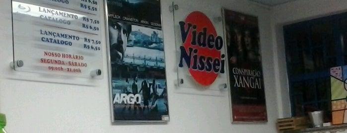 Vídeo Locadora e Cafeteria Nissei is one of Locais curtidos por Diego.