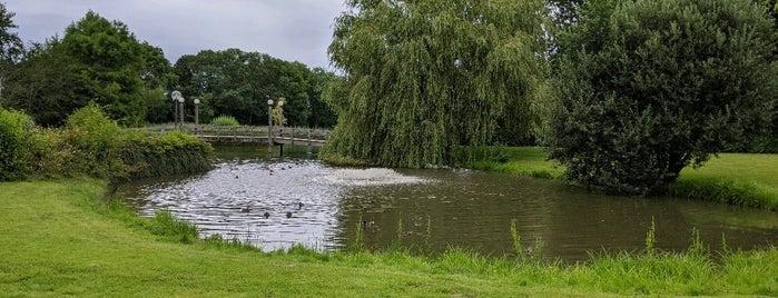 Von-Thünen-Park is one of Bensersiel.